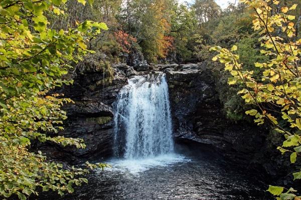 Falls of Falloch by Janetdinah
