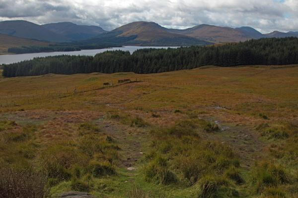 View Point along Glencoe by Janetdinah