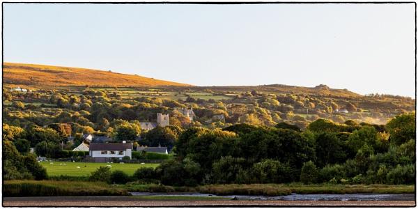 Across the Nevern Estuary towards Newport, Pembrokeshire by traveller47