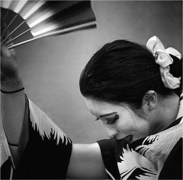 Dancer with fan