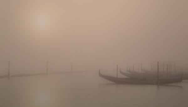 Mist on Venice lagoon by philhomer