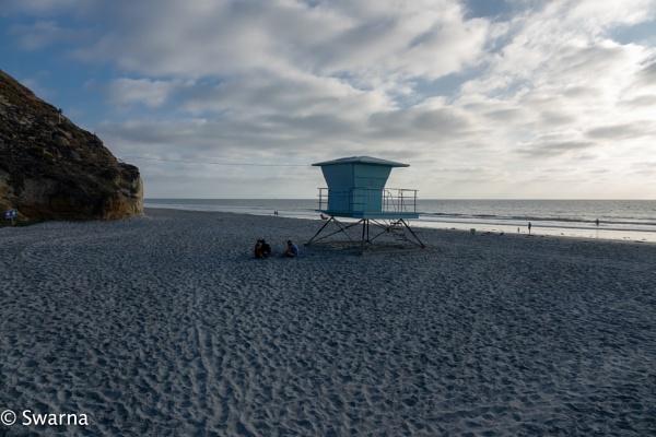 Solana Beach, CA by Swarnadip