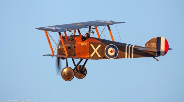 Sopwith Camel WW1 Biplane by brian17302
