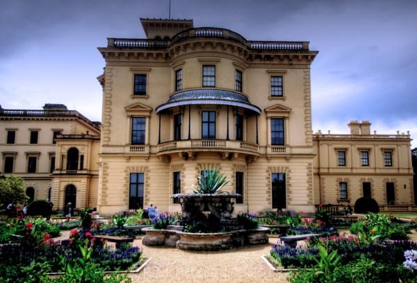 Osbourne House in Summer by Hamlin