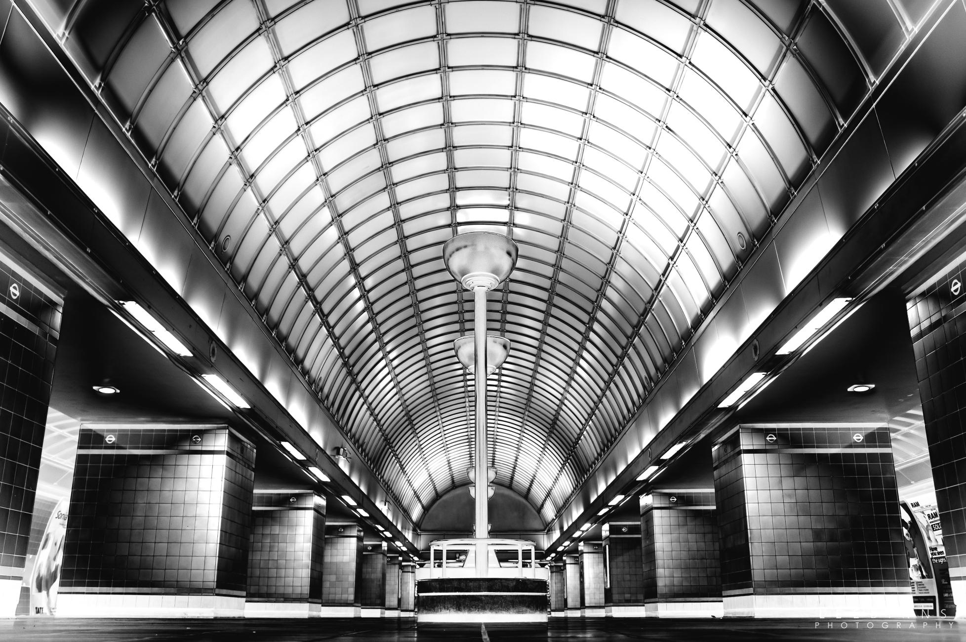 Gants Hill Underground Tube Station