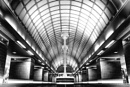 Gants Hill Underground Tube Station by LeeBinns