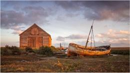 Sunrise at Thornham Norfolk