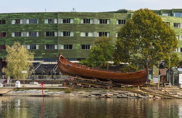 Viking Ship by Richard Hovland