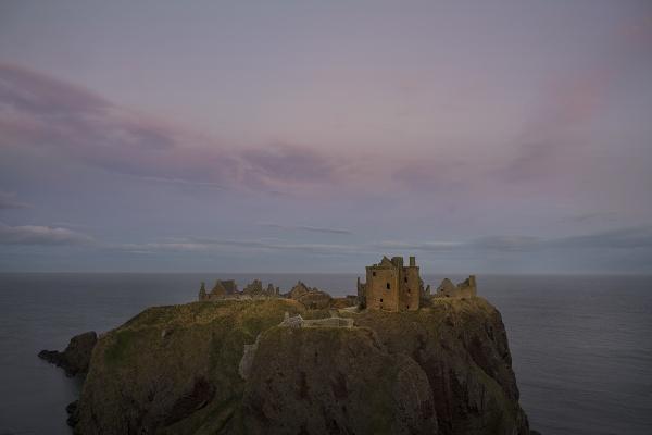 Dunnottar Castle by AndrewAlbert