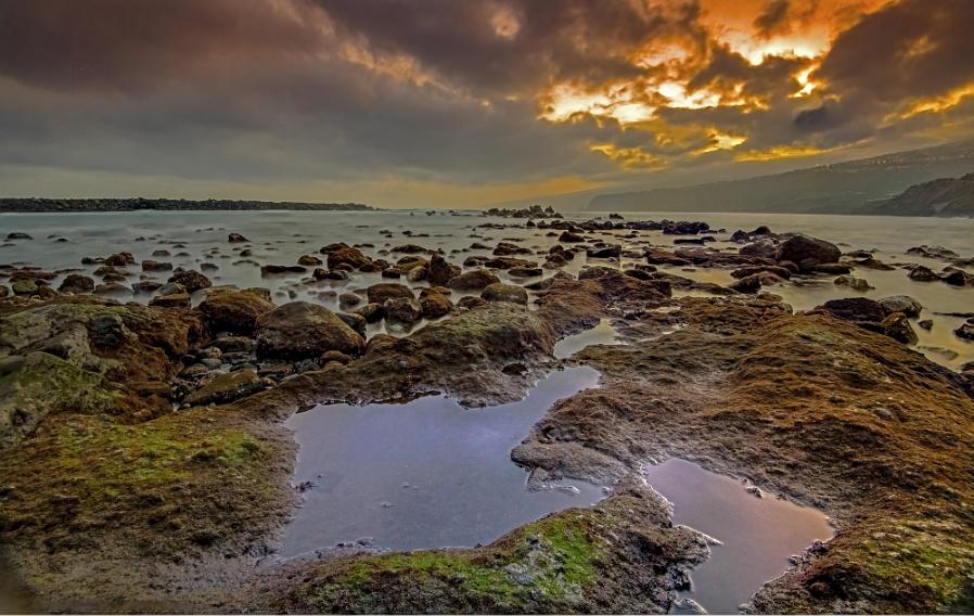 Playa Martianez At Sunrise