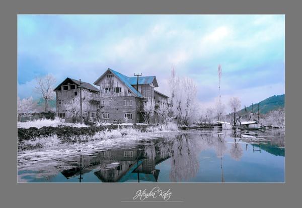 Dal Lake in IR by drjskatre