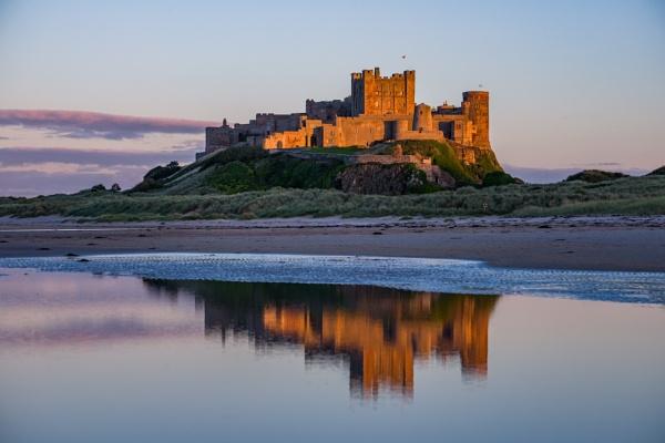 Bamburgh Castle Northumberland. by icphoto