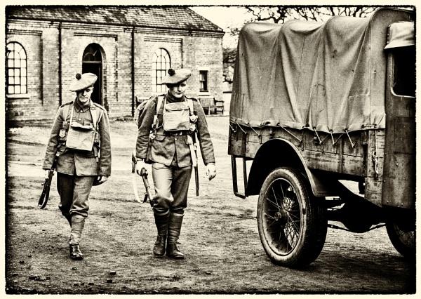 WW1 reenacters by Gordonsimpson