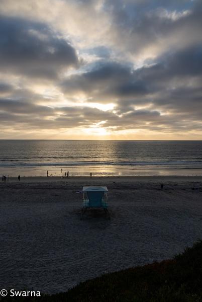 Sunset - Solana Beach, CA II by Swarnadip