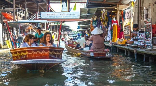 Damnoen Saduak Floating Market, Thailand by brian17302
