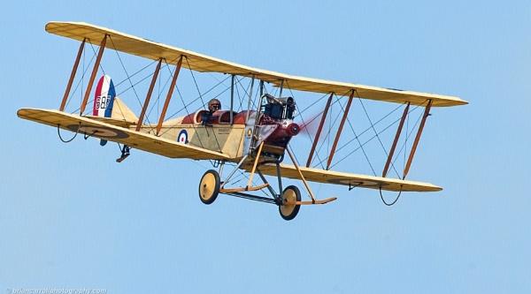 Royal Aircraft Factory BE2c Biplane by brian17302