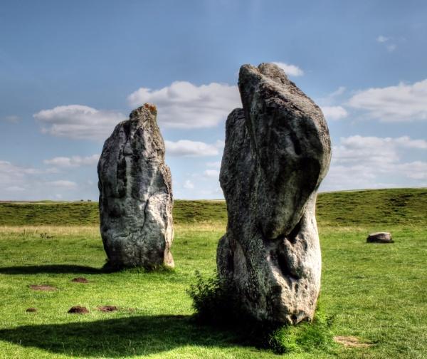 Standing Stones, Avebury by Hamlin