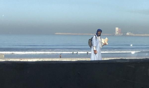 Seashell Seller by caj26