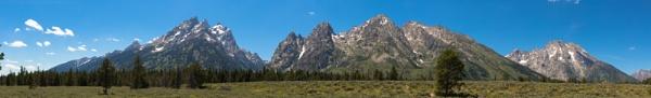 Teton Mountain Range (5) by Trekmaster01