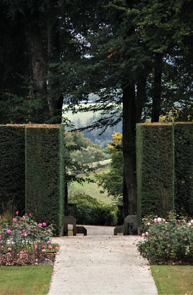 Castle Gardens Drogo Devon by RobMacormac