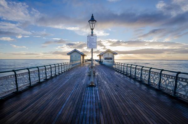 Symmetrical Pier by cardiffgareth