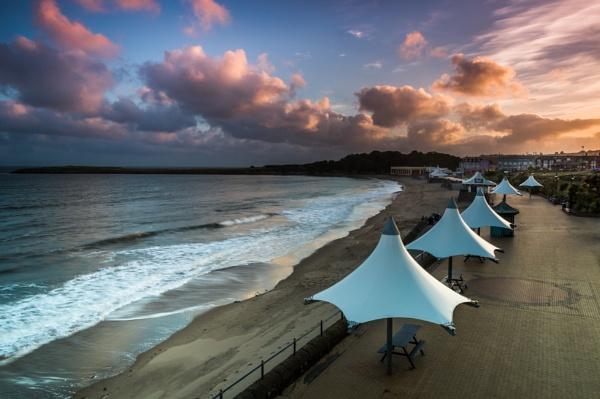 Barry Island Umbrellas by cardiffgareth