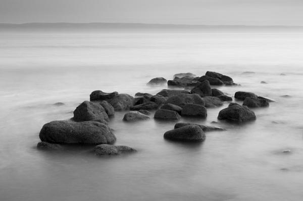 Llantwit Rocks Mono by cardiffgareth
