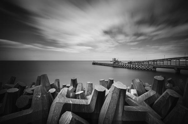 Coastal Sea Defence by DavidMMWilliams