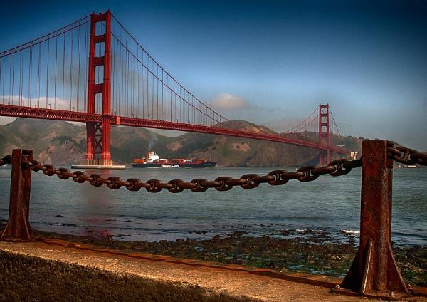 Golden Gate Bridge by Zydeco_Joe