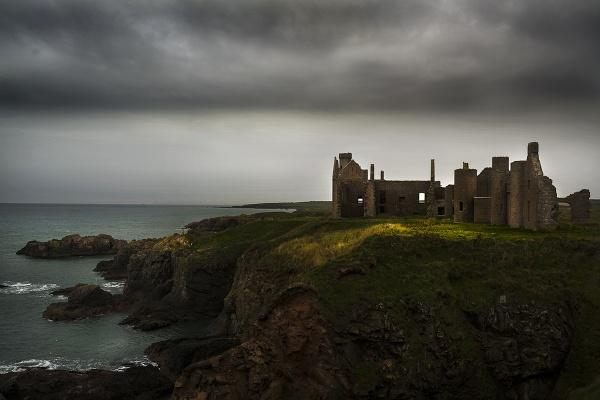 Slains Castle by AndrewAlbert
