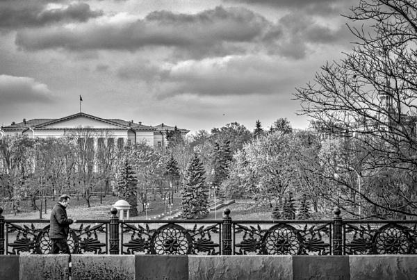 Walking Alongside the Gorky Park by nonur