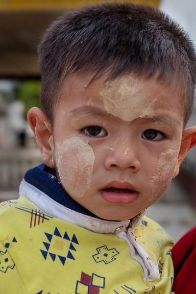 Burmese child by bobbyl