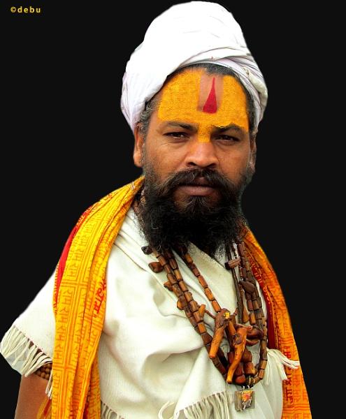 A Sadhu (holy man)..4 by debu