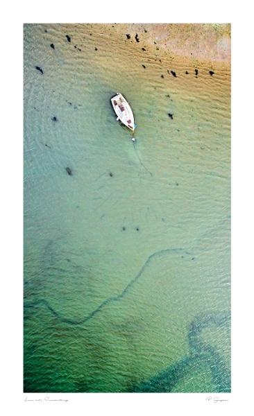 Lone Fishing Boat, Inverkeithing by paul_gaughan