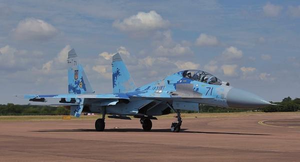 Sukhoi Su-27P by nealie
