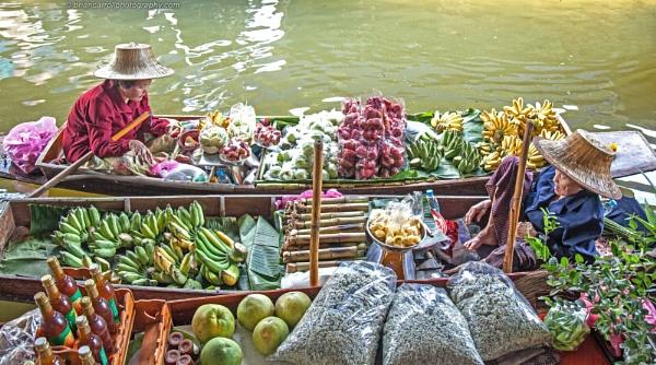 Damnoen Saduak Floating Market, Thailand, Part 3 by brian17302