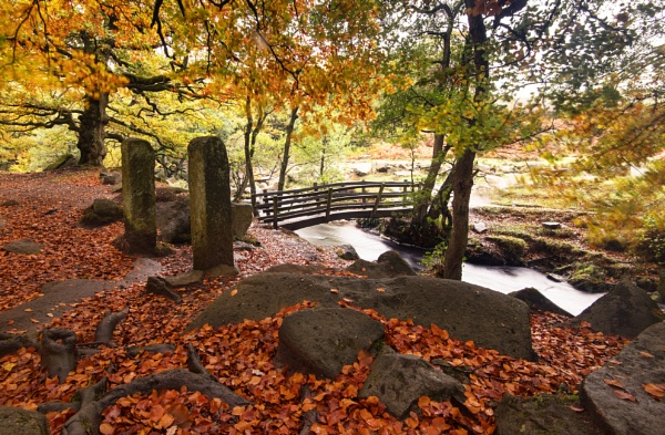 Padley Bridge by Trevhas