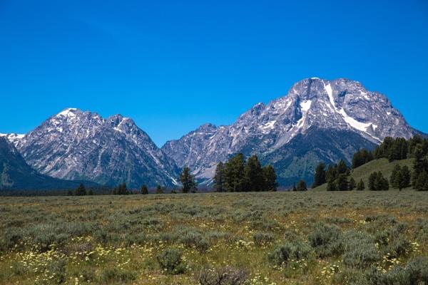 Teton Mountain Range (7) by Trekmaster01