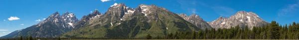 Teton Mountain Range (9) by Trekmaster01