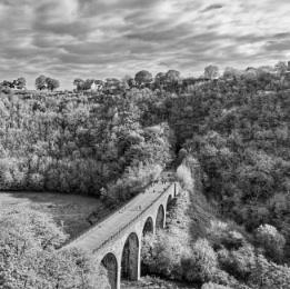 Monsal viaduct at Little Longstone