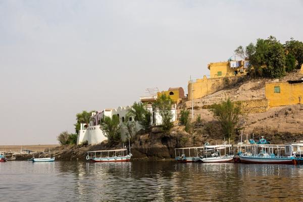 Harbor on Nile by rninov