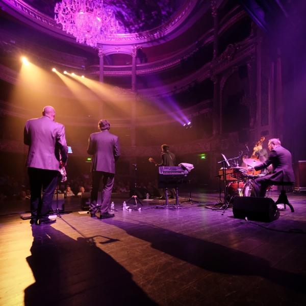 James, James Hunter backstage by Drummerdelight