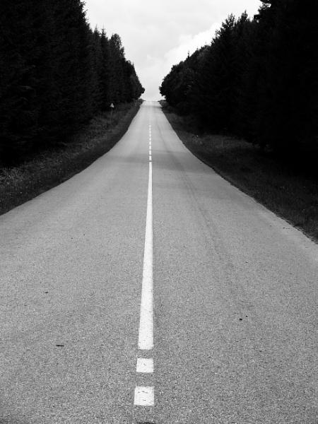 Grey road to sky by SauliusR