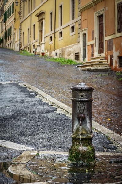 The Street Well by Billdad