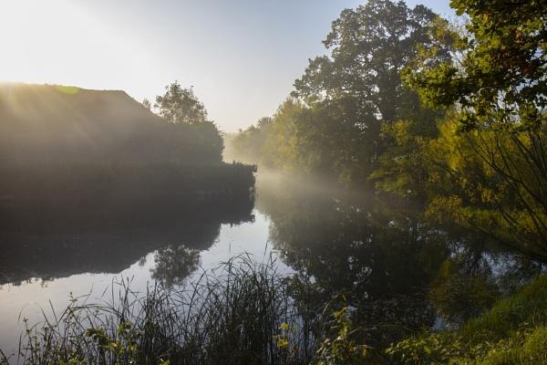 Fort Brockhurst in fog by frenchie44