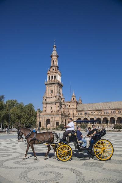 Plaza de Espana Seville by sandwedge