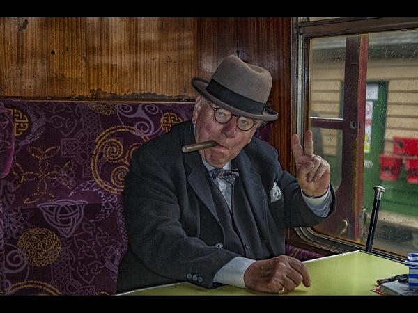 Good Morning Mr Churchill by stevenb