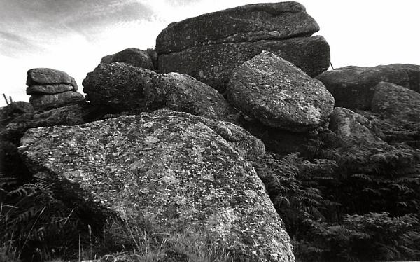 Cornish rocks by Lontano