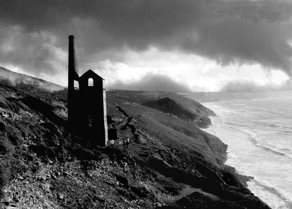 Cornish Tin Mine by Lontano