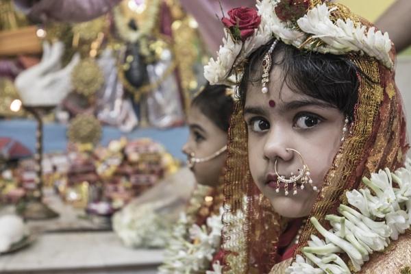 Kumari Puja 2 by clicknimagine